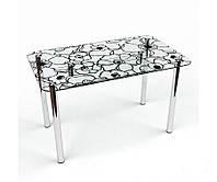 Стол стеклянный Грация S-2 (БЦ-стол ТМ)