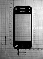 Тачскрин China Nokia N97 (45 х 105 мм) шлейф снизу слева (#1330)