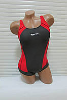 Сдельный купальник Rivage Line (8972) черно-красный код 161Д
