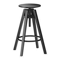 "IKEA ""ДАЛФРЕД"" стул барный, черный"