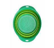 Дуршлаг силиконовый складной CookingStyle CC-306 зеленый