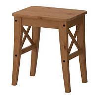 "IKEA ""ИНГОЛЬФ"" Табурет, морилка,антик"