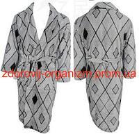 Турмалиновый халат с мериносовой шерстью и бамбуком Вековой Восток