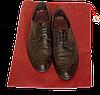 Мешок-пыльник для обуви с затяжкой (бордовый), фото 2