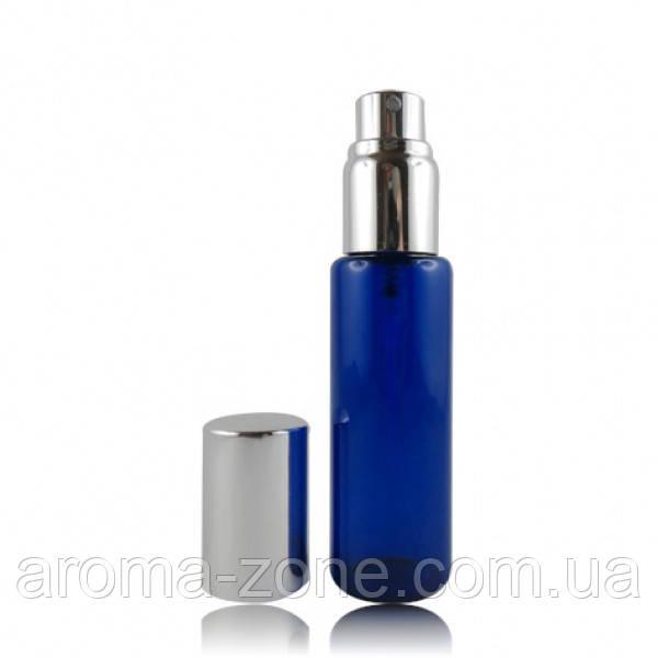 Мини- спрей стеклянный ( синий ) , 30 мл.