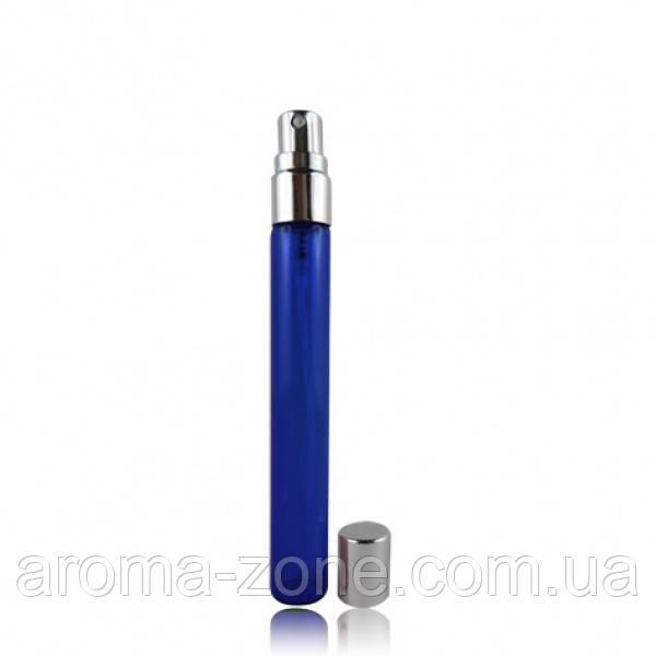 Мини- спрей стеклянный (синий  ) , 10 мл.