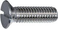 Винт с потайной головкой нержавеющий А2 и  А4, от М2 до М12, ГОСТ 17475-80, DIN 963, DIN 965