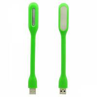 Светодиодный usb светильник  салатовый 5V (гибкая светодиодная USB лампа) Код.58651