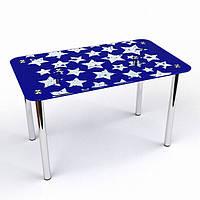 Стол стеклянный Звезды S-2 (БЦ-стол ТМ)