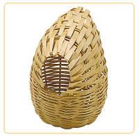 Плетеное гнездо для мелких птиц PA 4452.8,5*11,5 см.