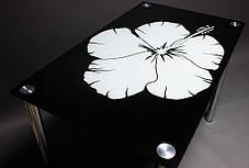 Стол кухонный стеклянный Лаватера 91х61 *Эко (БЦ-стол ТМ), фото 3