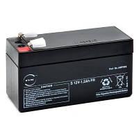 Кислотно-свинцовый аккумулятор 12В, 1,2A/ч, аккумулятор для портативные устройства, фонарей и др.