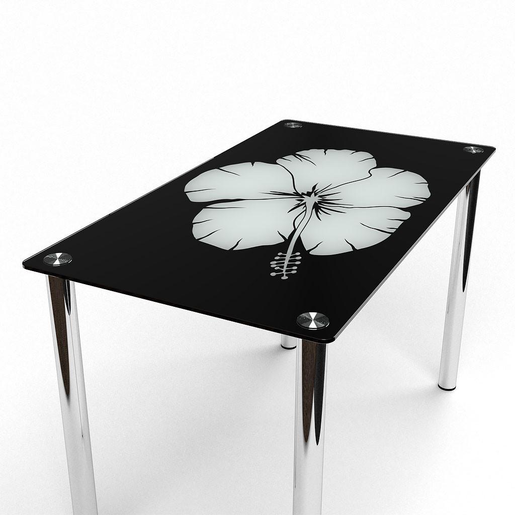 Стол кухонный стеклянный Лаватера 91х61 *Эко (БЦ-стол ТМ)