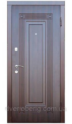 Входная дверь модель П2-347 темный орех, фото 2