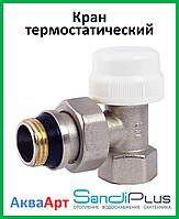 Кран термостатический угловой 3/4'' SD