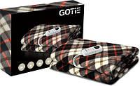 Электрическое одеяло GOTIE GKE 150 NR03  черное 150 см/80 см Польша Оригинал
