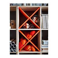 """IKEA """"НОРНАС"""" Полка-ячейка / разделитель для стеллажа / полка для бутылок, разные цвета"""