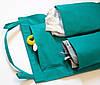 Подвесной органайзер для шкафчика в детский сад (зеленый), фото 4