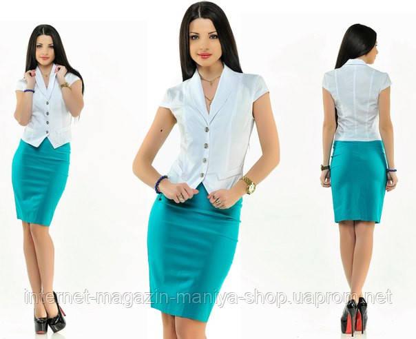 Костюм женский жакет + юбка