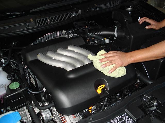 Как правильно мыть двигатель автомобиля?