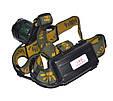 Налобный тактический фонарик Police BL-2189 99000W+UF 2 диода 2 АКБ, фото 3