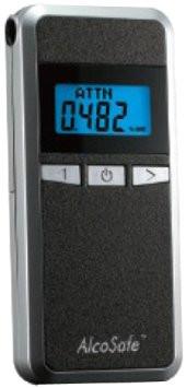 Специальный алкометр AlcoSafe KX-6000S4  с полупроводниковым датчиком и LCD дисплеем