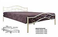Кровать металлическая двуспальная Мелани Люкс