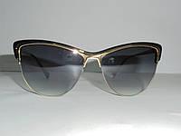 """Солнцезащитные очки """"кошачий глаз"""" 6923, очки стильные, модный аксессуар, очки, женские очки, качество"""