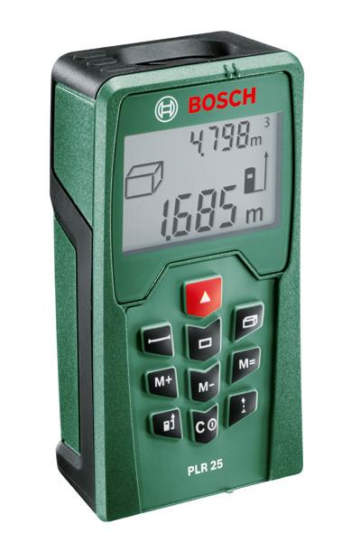 Лазерный дальномер Bosch PLR 25, 0603016220