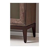 "IKEA ""РЕЖИССЁР"" Шкаф-витрина, коричневый"