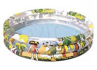 Детский бассейн Джунгли Bestway 102х25 см.