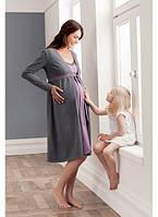Халат с ночной рубашкой для беременных и кормящих