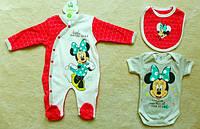 Комплект для новорожденных 3 штуки Disney