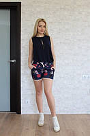 Женские молодежгые шорты