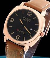 Кварцевые часы Curren (brown-gold) - гарантия 6 месяцев