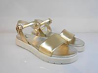 Босоножки Etor 5722-56153 золотистые, фото 1
