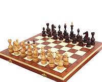Большие деревянные шахматы С-145 Дебют - достойный подарок