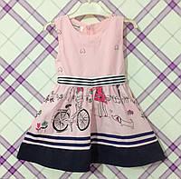 """Платье для девочки """"Cherry Cake"""" 2, 3 годика."""