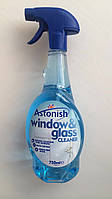 Средство для чистки стекол и зеркал Astonish Великобритания 750мл