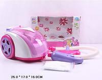 Пылесос 0924 на батарейках, детский, игрушечный