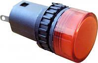 Сигнальная арматура (лампа) светодиодная AD16-16DS красная 24V АC/DC