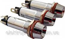 Сигнальна лампа (арматура) металева AD22C-8 червона 220V AC