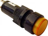 Сигнальная лампа (арматура) Арматура NXD-211  желтая 24V AC/DC