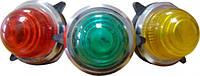 Сигнальная лампа (арматура) неоновая PL-30N  Сигн. арм. желтая 110 V