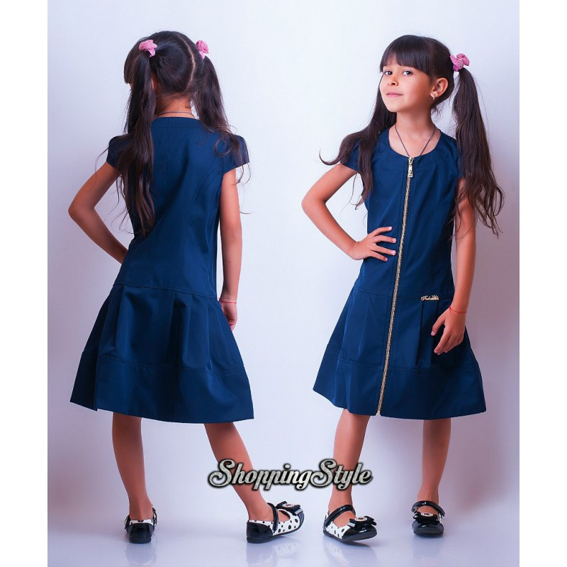 Школьное платье для девочки подростка