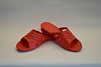 Шлепанцы женские красные, фото 1