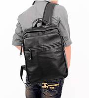Мужской кожаный рюкзак. Модель 04274, фото 2