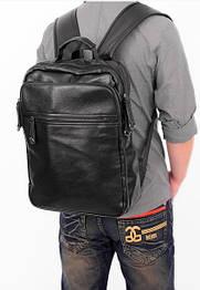 Мужской кожаный рюкзак. Модель 04274