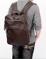 Мужской кожаный рюкзак. Модель 04274, фото 3