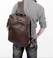 Мужской кожаный рюкзак. Модель 04274, фото 4